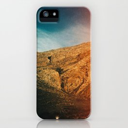 love is in the mountain iPhone Case