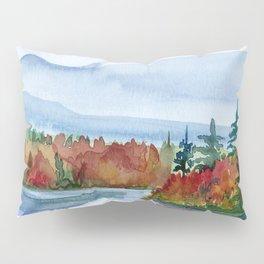 Mirror Lake in Autumn Pillow Sham
