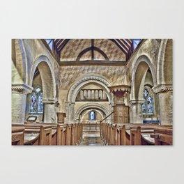 St Nicholas Compton Canvas Print