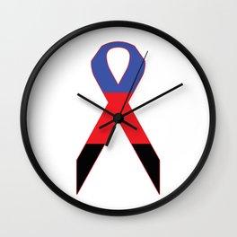 Polyamorous Ribbon Wall Clock