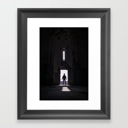 A new discovery Framed Art Print
