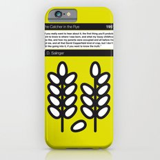 No016 MY The Catcher in the Rye Book Icon poster Slim Case iPhone 6s