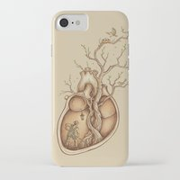 tree of life iPhone & iPod Cases featuring Tree of Life by Enkel Dika