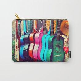 las guitarras. spanish guitars, Los Angeles photograph Carry-All Pouch