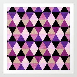 Heavy Pink Art Print