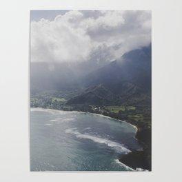 Hanalei Bay - Kauai, Hawaii Poster