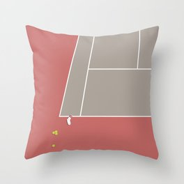 TENNIS SOCKS - The Baumer Meltdown Throw Pillow