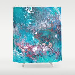CLEAR MIND Shower Curtain