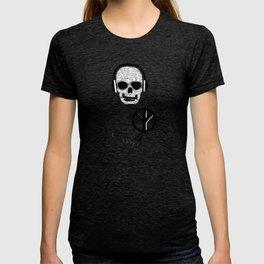 Love' skull -  a collaboration between Sam Guilhen and Gwenola de Muralt - T-shirt