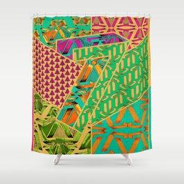 Tile 7 Shower Curtain