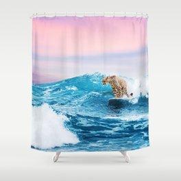 Sea Seeker Shower Curtain