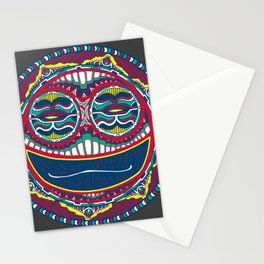 Adrenaline Mask Multicolor Stationery Cards