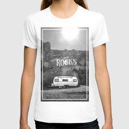 On the rocks T-shirt