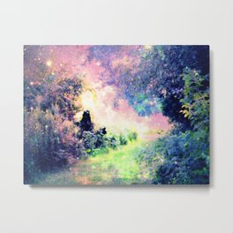 Pastel Fantasy path Metal Print