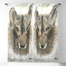 The Felix wolf Blackout Curtain