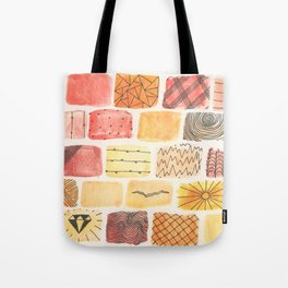 Mini Swatch Ink Sketches Tote Bag