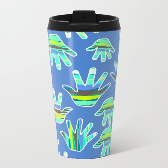 Marine gloves Metal Travel Mug