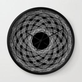 GEOMETRIC NATURE: HELIX b/w Wall Clock