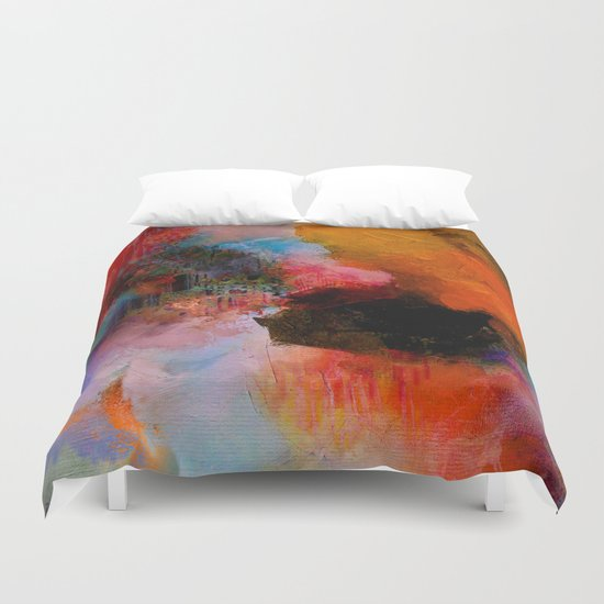Somewhere in yourself Duvet Cover