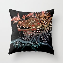 Mindblown Throw Pillow