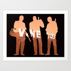 Vinewood Trio Art Print