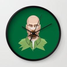 Breaking Bad - Walter White Beaten Up Wall Clock