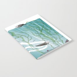 Otters Love Life Notebook
