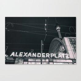 Alexander Platz Canvas Print