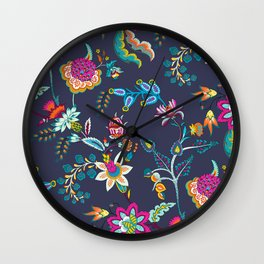 Chintz Chic Wall Clock
