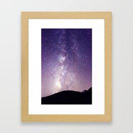Ombre Sky Framed Art Print