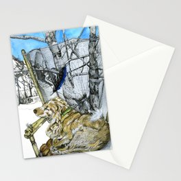 A dream of Leo Stationery Cards