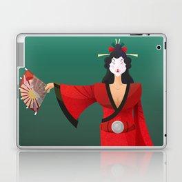 Vector Geisha (Turning Japanese) Laptop & iPad Skin