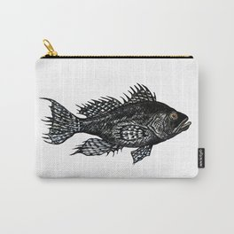 Black Sea Bass  Carry-All Pouch