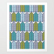 Arboretum | Leafy Greens Art Print