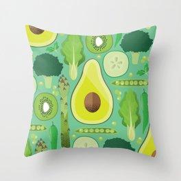 Eat your veggies Throw Pillow