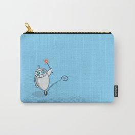 Playful Robot Carry-All Pouch