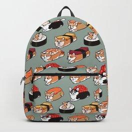 Sushi  Corgi Backpack