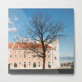 l'arbre dans la ville Metal Print