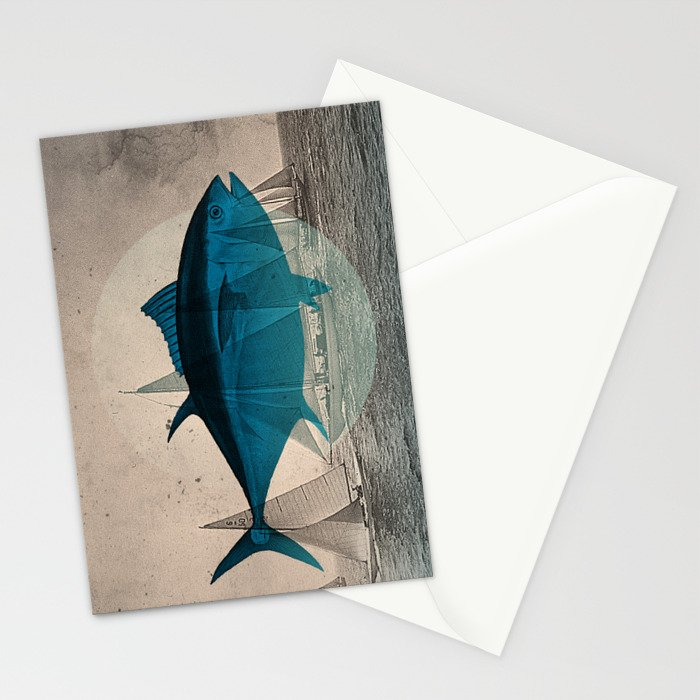 Northern Bluefin Stationery Cards