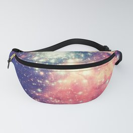 Painting the universe (Colorful Negative Space Art) Fanny Pack