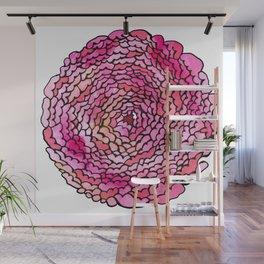 A many (many, many) petaled flower Wall Mural