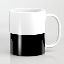Black & White Squares Coffee Mug