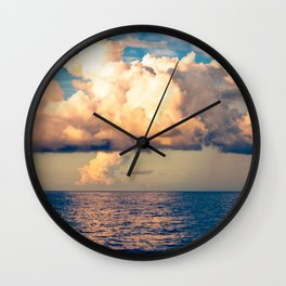 Heavenly Clouds Wall Clock