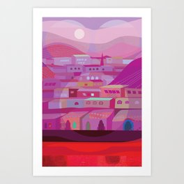 DuBoce Triangle Art Print