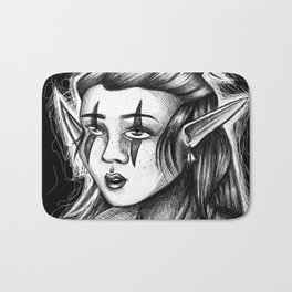 Spooky Elf Bath Mat