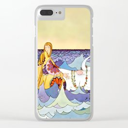 """""""Europa and the Bull"""" by Virginia Sterrett Clear iPhone Case"""