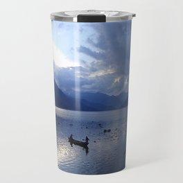 Sunset on Fewa Lake Travel Mug