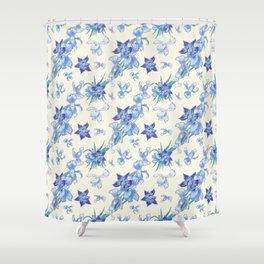 Bohemian orchids spring fresh joy Shower Curtain