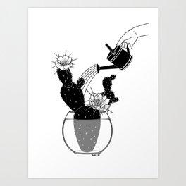 Overlove Art Print