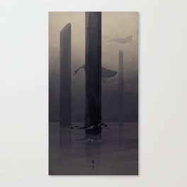 DH: Heart of the Void Canvas Print
